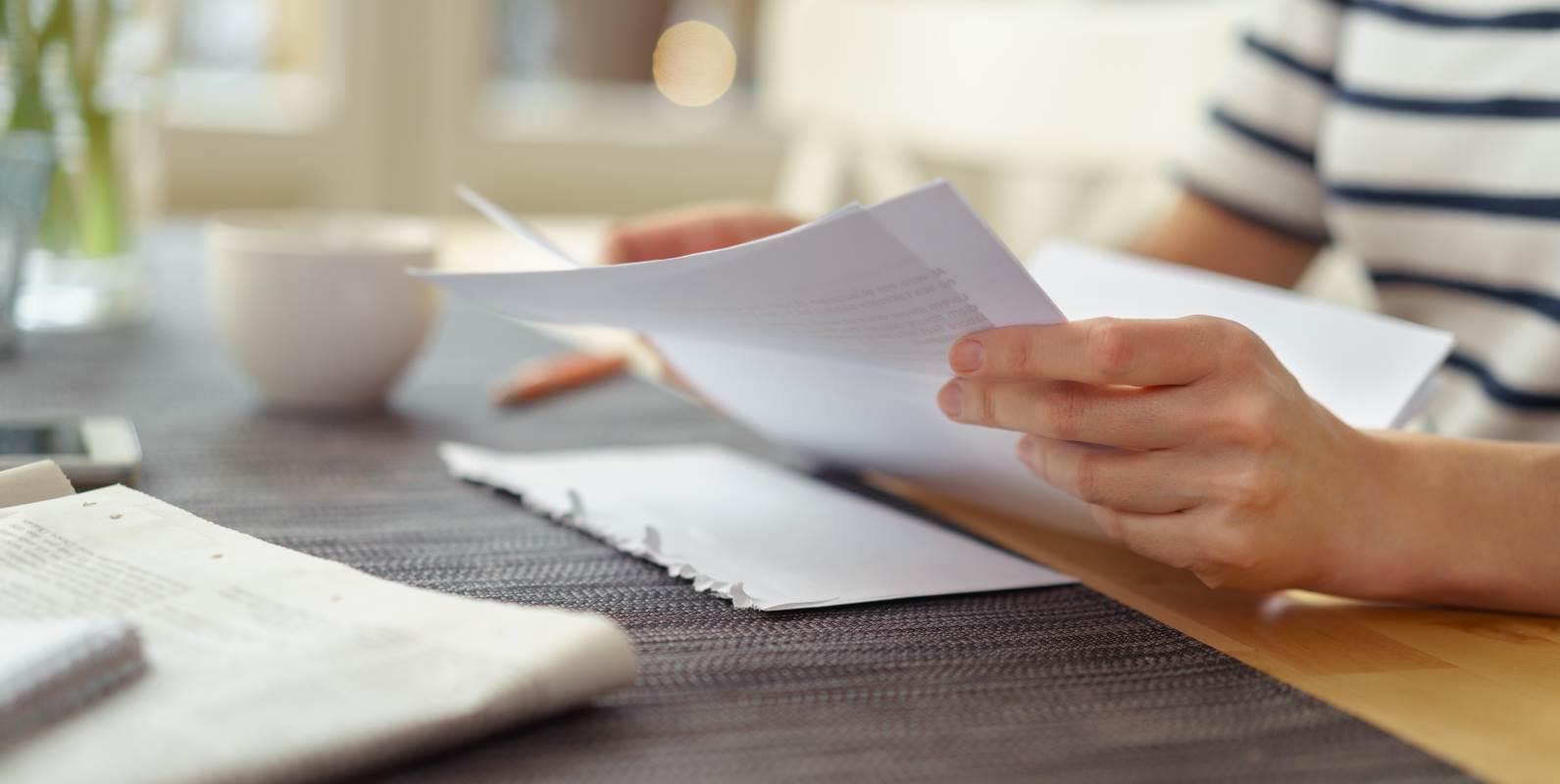 Ein Deckblatt kann deine Bewerbung aufwerten